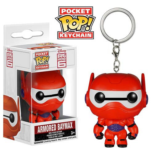 Disney Pocket Pop! Keychain Armor Baymax