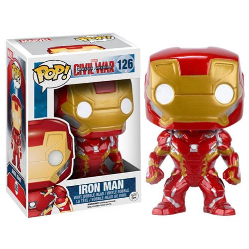 Marvel Pop! Vinyl Figure Iron Man (Captain America: Civil War)