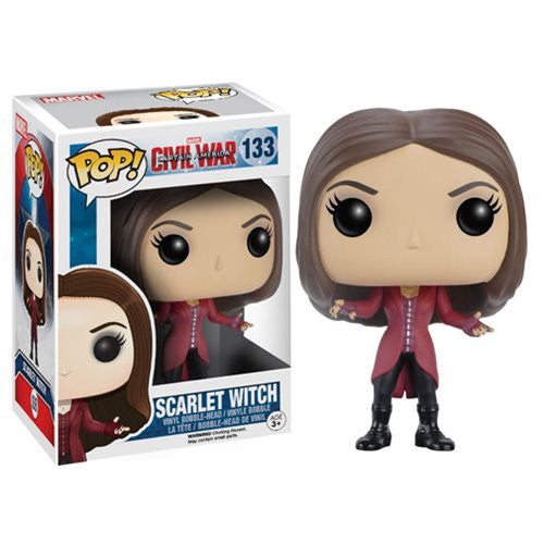 Marvel Pop! Vinyl Figure Scarlet Witch (Captain America: Civil War) - Fugitive Toys
