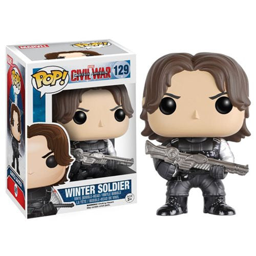 Marvel Pop! Vinyl Figure Winter Soldier (Captain America: Civil War) - Fugitive Toys