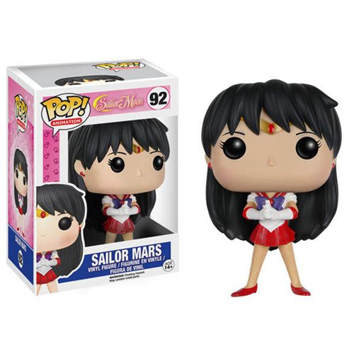 Anime Pop! Vinyl Figure Sailor Mars (Sailor Moon) - Fugitive Toys