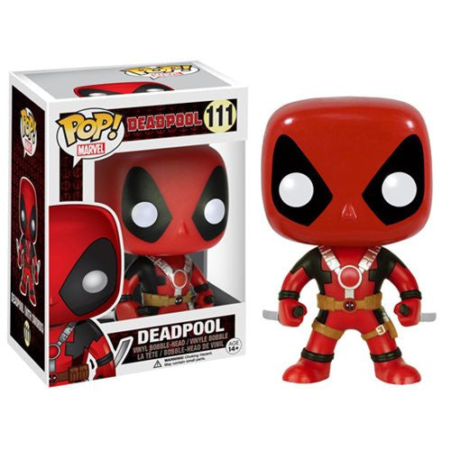 Marvel Pop! Vinyl Bobblehead Deadpool Two Swords