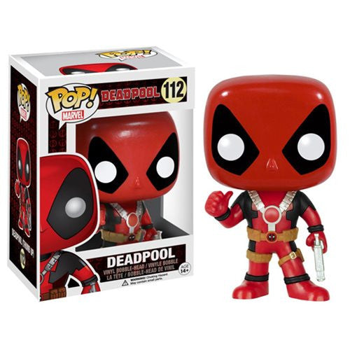Marvel Pop! Vinyl Bobblehead Deadpool Thumbs Up