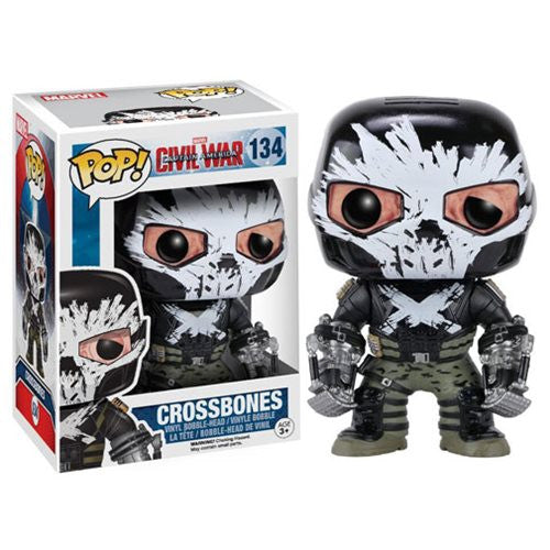 Marvel Pop! Vinyl Figure Crossbones (Captain America: Civil War) [134] - Fugitive Toys