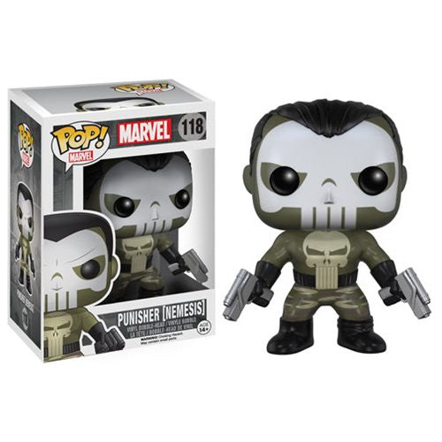Marvel Pop! Vinyl Figure Punisher (Nemesis)