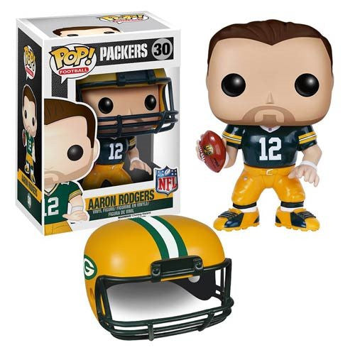 NFL Wave 2 Pop! Vinyl Figure Aaron Rodgers [Green Bay Packers]