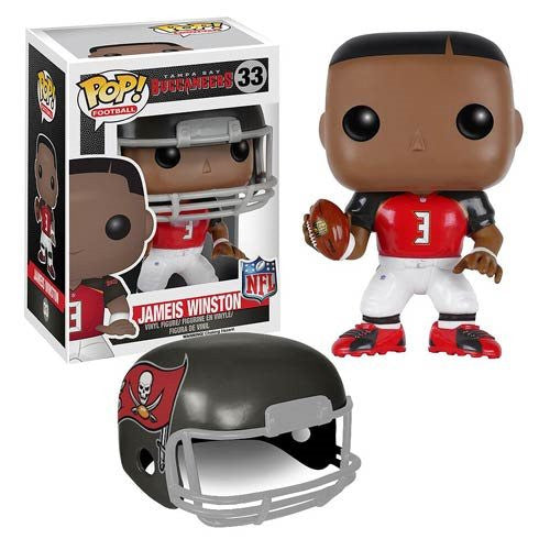 NFL Wave 2 Pop! Vinyl Figure Jameis Winston [Tampa Bay Buccaneers] - Fugitive Toys