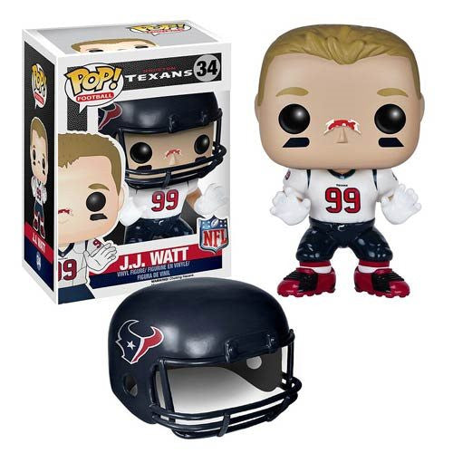 NFL Wave 2 Pop! Vinyl Figure JJ Watt [Houston Texans]