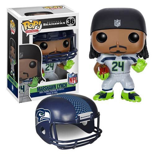 NFL Wave 2 Pop! Vinyl Figure Marshawn Lynch [Seattle Seahawks]