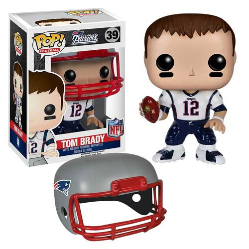 NFL Wave 2 Pop! Vinyl Figure Tom Brady [New England Patriots]