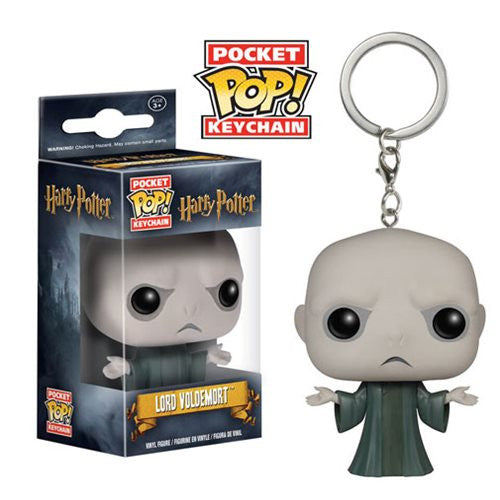 Harry Potter Pocket Pop! Keychain Voldemort