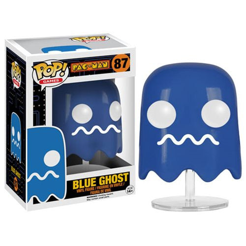 Pac-Man Pop! Vinyl Figure Blue Ghost