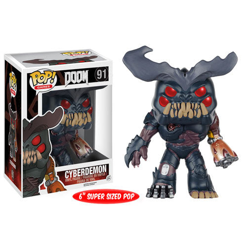 Doom Pop! Vinyl Figure Cyberdemon [6-Inch]