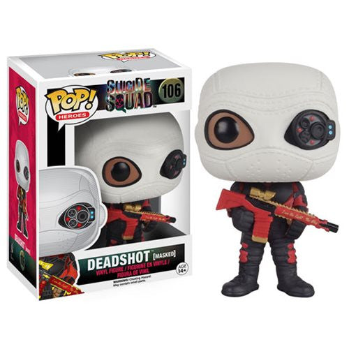 Movies Pop! Vinyl Figure Masked Deadshot [Suicide Squad]