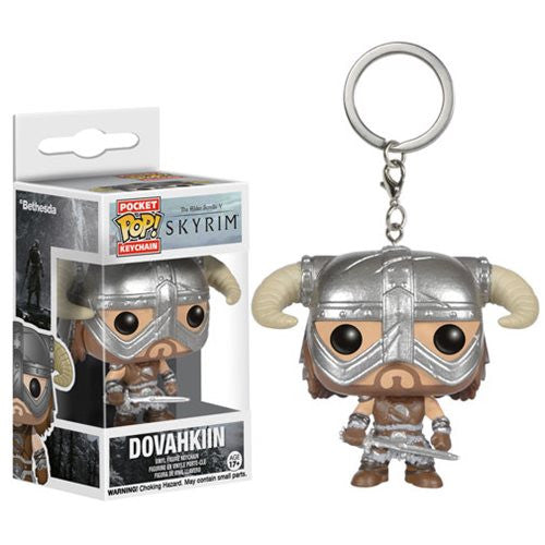 Skyrim Pocket Pop! Keychain Dovahkiin