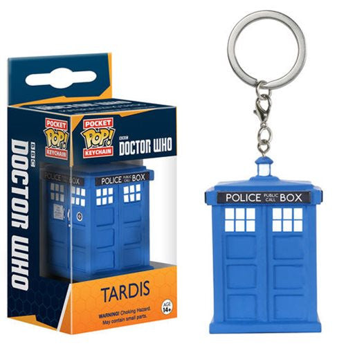 Doctor Who Pocket Pop! Keychain Tardis - Fugitive Toys