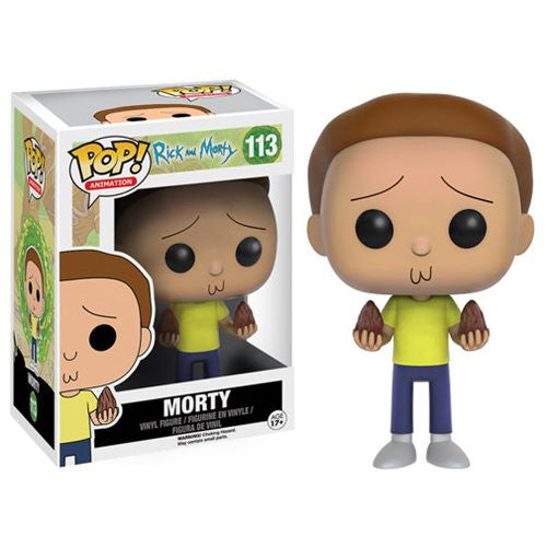 Rick and Morty Pop! Vinyl Figure Morty