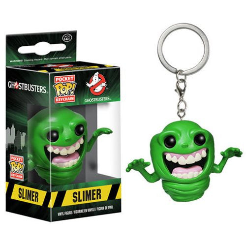 Ghostbusters Pocket Pop! Keychain Slimer