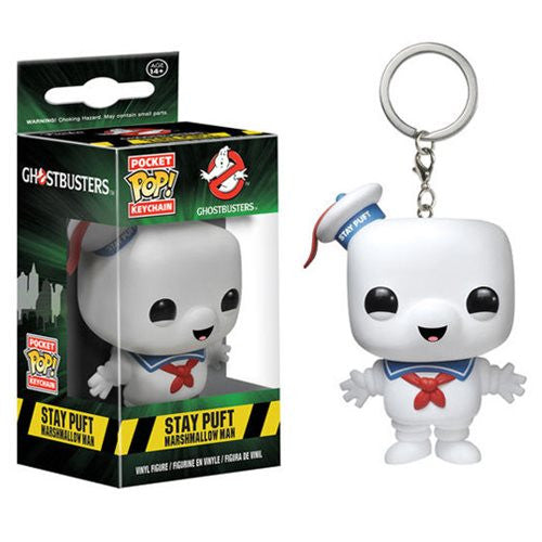 Ghostbusters Pocket Pop! Keychain Stay Puft Marshmellow Man