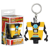 Borderlands Pocket Pop! Keychain Claptrap - Fugitive Toys