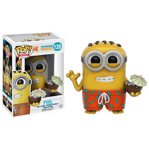 Minions Paradise Pop! Vinyl Figure Phil