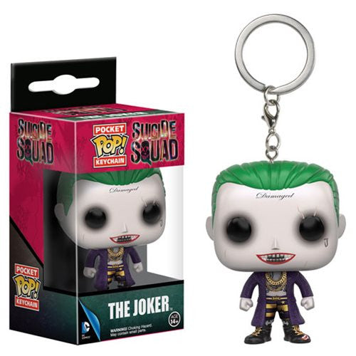 Suicide Squad Pocket Pop! Keychain Joker - Fugitive Toys