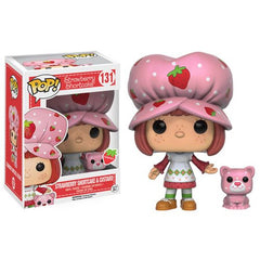 [Preorder] Strawberry Shortcake Pop! Vinyl Figure Strawberry Shortcake & Custard