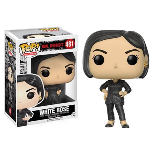 Mr. Robot Pop! Vinyl Figure White Rose