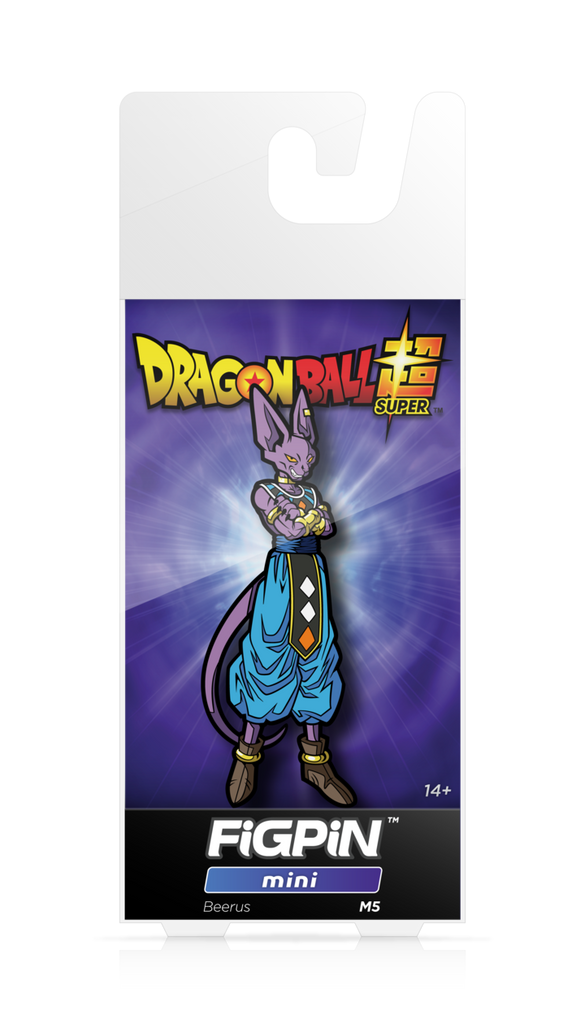 Dragon Ball Super: FiGPiN Mini Enamel Pin Beerus [M5]