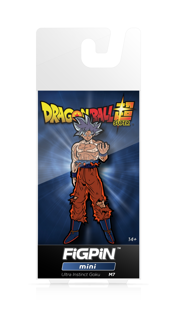 Dragon Ball Super: FiGPiN Mini Enamel Pin Ultra Instinct Goku [M7] - Fugitive Toys