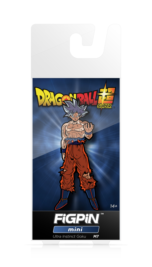 Dragon Ball Super: FiGPiN Mini Enamel Pin Ultra Instinct Goku [M7]