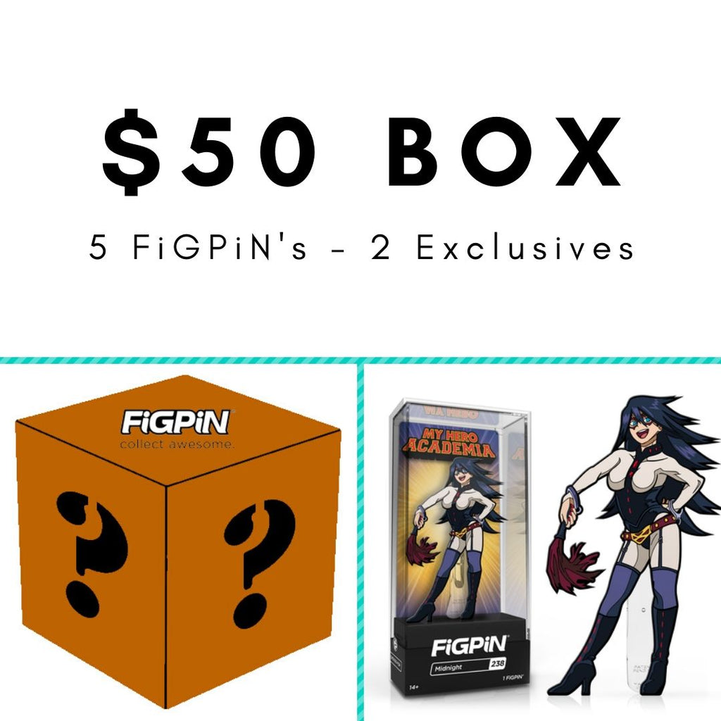 $50 FiGPiN Mystery Box [Brown]