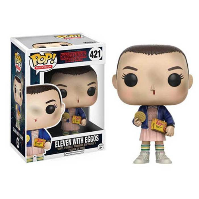Stranger Things Pop! Vinyl Figure Eleven with Eggos