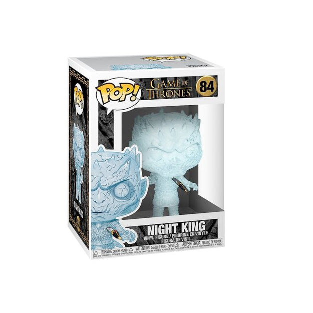 Game of Thrones Pop! Vinyl Figure Crystal Night King w/ Dagger in Chest [84]