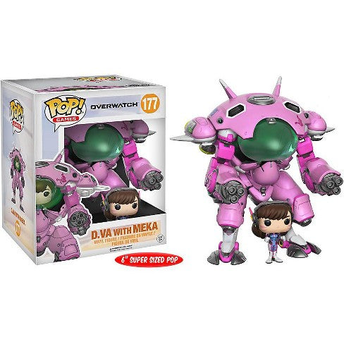 "Overwatch Pop! Vinyl Figure D.VA with MEKA 6"" [177]"