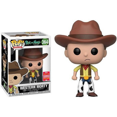 Rick and Morty Pop! Vinyl Figure Western Morty (Summer 2018 Convention) [364]