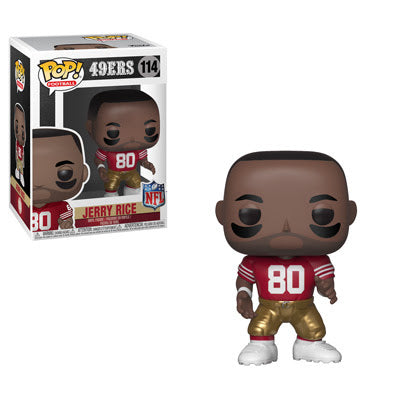NFL Legends Pop! Vinyl Figure Jerry Rice [San Francisco 49ers] [114]