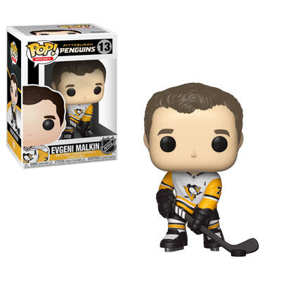 NHL Pop! Vinyl Figure Evgeni Malkin (Away Jersey) [Pittsburg Penguins] [13]
