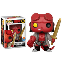 Comics Pop! Vinyl Figure Hellboy with Excalibur [Previews Exclusive] [14] - Fugitive Toys