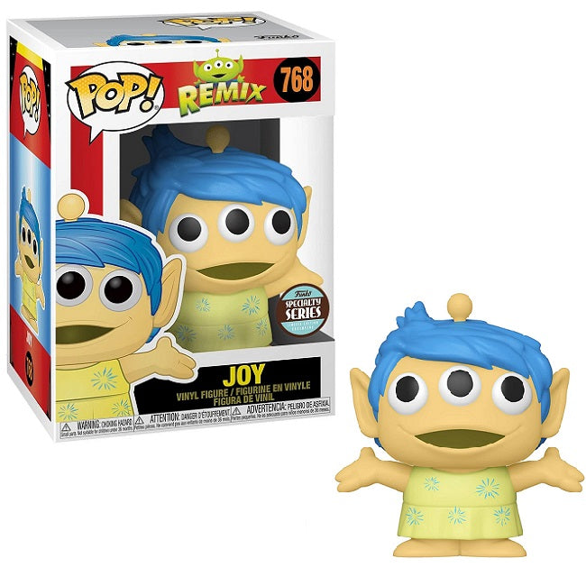 Disney Pop! Vinyl Figure Pixar Alien Remix Joy (Specialty Series) [768]