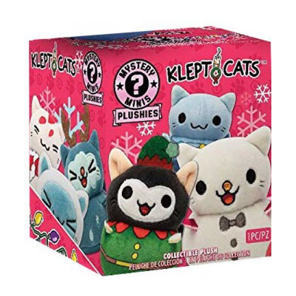 Kleptocats Holiday Mystery Mini Plushies: (1 Blind Box)