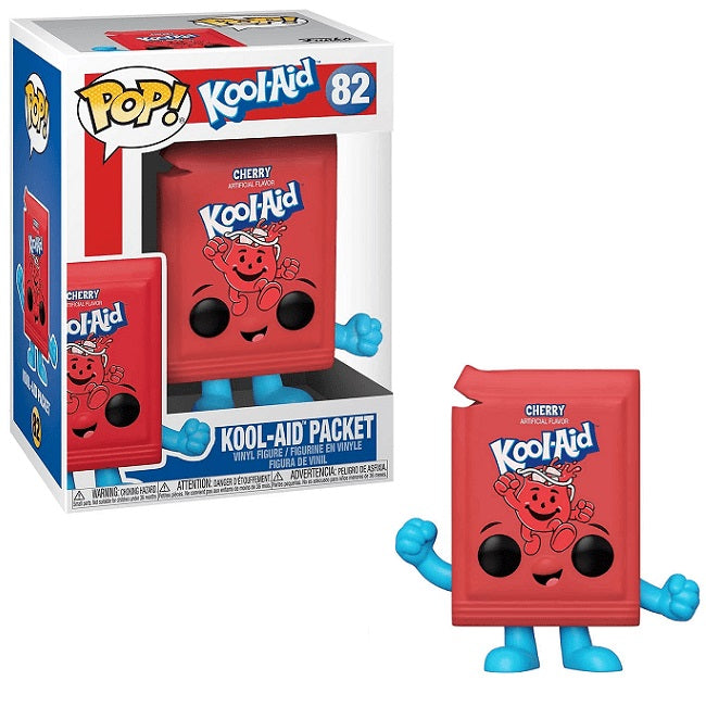 Ad Icons Pop! Vinyl Figure Original Kool Aid Packet (Cherry Flavor) [82]