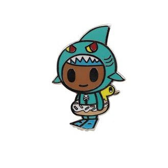 Tokidoki Little Jaws Enamel Pin