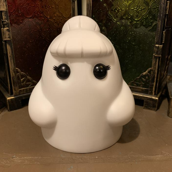 Luna Tiny Ghost Vinyl Figure [OG Edition] - Fugitive Toys