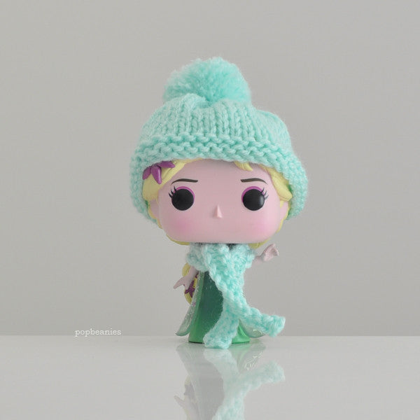 Pop! Apparel Knitted Beanie & Scarf Set [Mint]