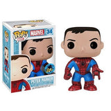 Marvel Pop! Vinyl Bobblehead Peter Parker [Exclusive] - Fugitive Toys