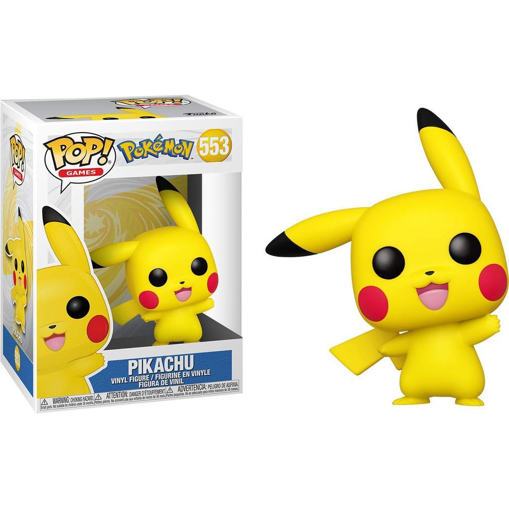 Pokemon Pop! Vinyl Figure Waving Pikachu [553] - Fugitive Toys