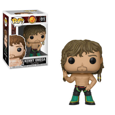 Bullet Club Pop! Vinyl Figure Kenny Omega [01] - Fugitive Toys