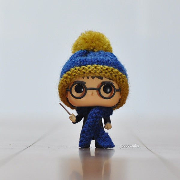 Pop! Apparel Knitted Beanie & Scarf Set [Ravenclaw]