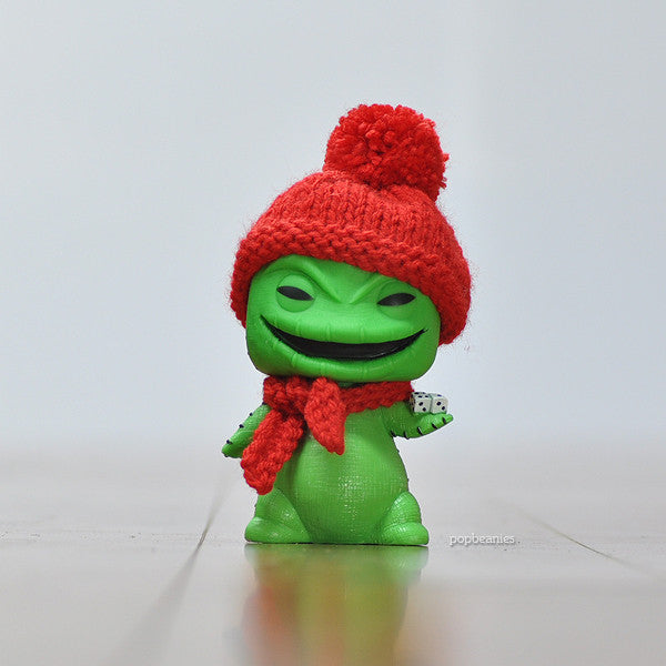 Pop! Apparel Knitted Beanie & Scarf Set [Red] - Fugitive Toys